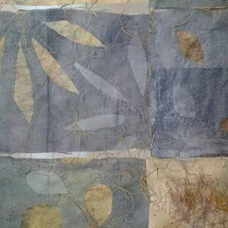 La poesia delle foglie e della Fiber Art di Daniela Tzvetkova a Parcocittà