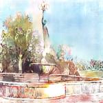 Foggia, la bellezza perduta: le fontane della Villa Comunale