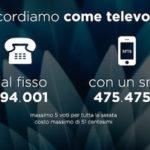 Il televoto a Sanremo? Una bufala, ed ecco perché