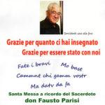 Il ricordo di don Fausto Parisi, nel giorno del suo 68° compleanno