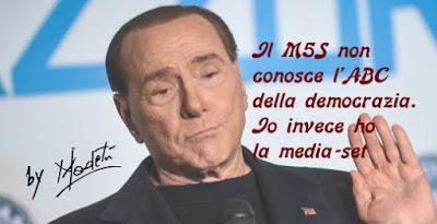 La media del sette di Silvio Berlusconi