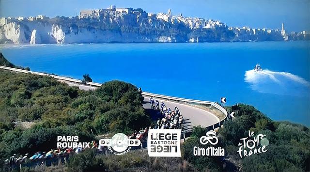 Vieste cartolina dello spot di Eurosport