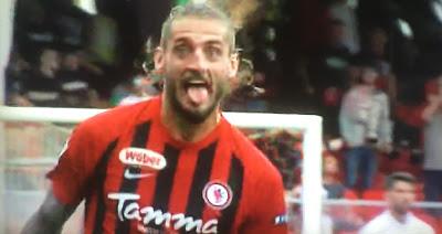 Tonucci come Ronaldo, e il Foggia fa festa