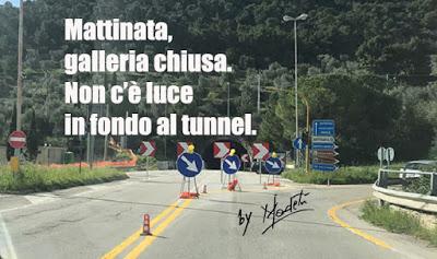 Galleria chiusa a Monte Saraceno: il tunnel senza fine