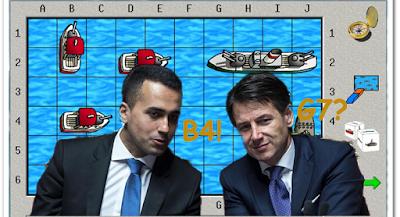 La battaglia navale di Conte e Di Maio