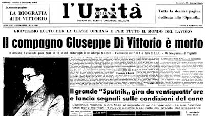 Sessantuno anni fa moriva Giuseppe Di Vittorio