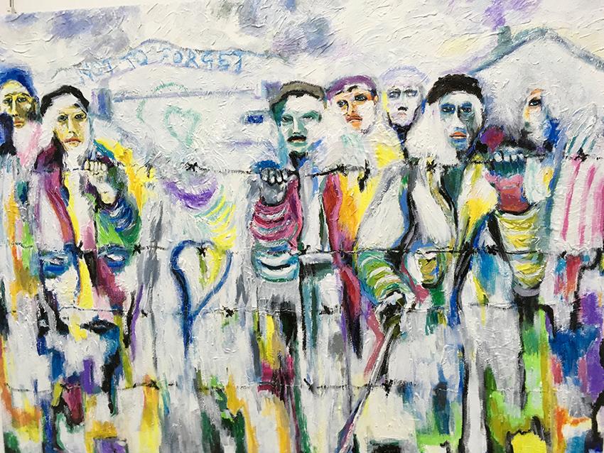 Michele La Sala, l'arte come antidoto al male