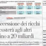 """La Repubblica """"scopre"""" l'autonomia differenziata: """"Sì, è una secessione dei ricchi"""""""