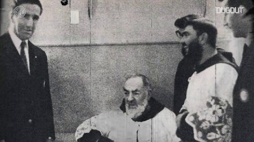 L'Inter racconta la visita a Padre Pio e la sconfitta a Foggia