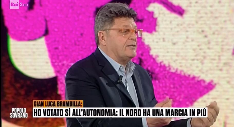 """Incredibile a """"Popolo Sovrano"""": Il Nord tira l'Italia, e il Sud deve darci i soldi"""