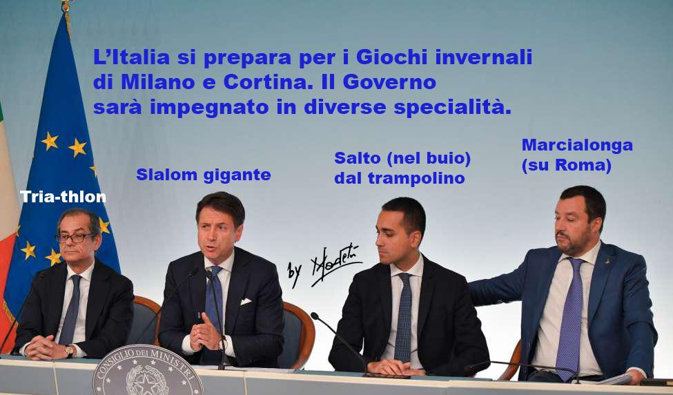 Come si schiera il Governo ai Giochi di Milano-Cortina