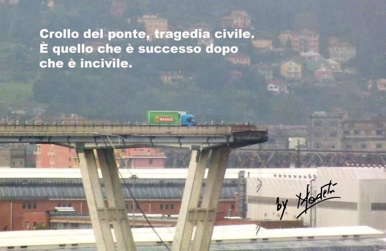 Cosa (non) ha insegnato la tragedia del Ponte Morandi