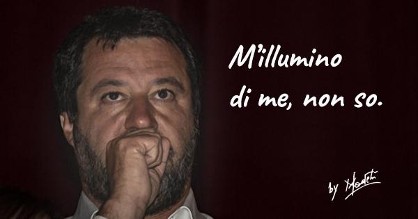 Politici in punta di poesia: Salvini fa l'ermetico