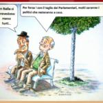 Le strane conseguenze del taglio dei parlamentari