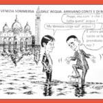 Acqua alta a Venezia. Perciò bisognava chiudere i porti.