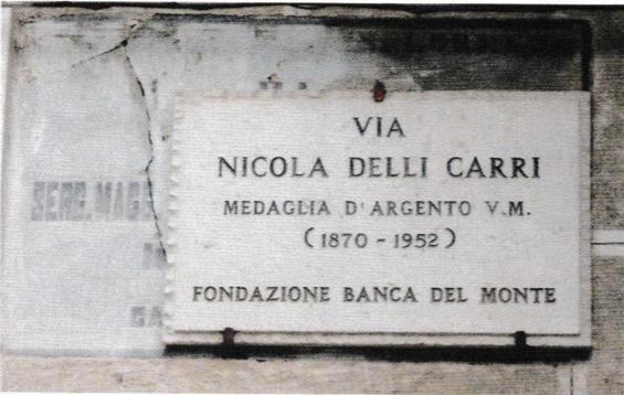 Nicola Delli Carri, il foggiano dimenticato caduto a Fiume (di Michele Paglia)