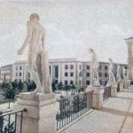 Quelle statue misteriose che si affacciano su piazzale Italia (di Marco Laratro)