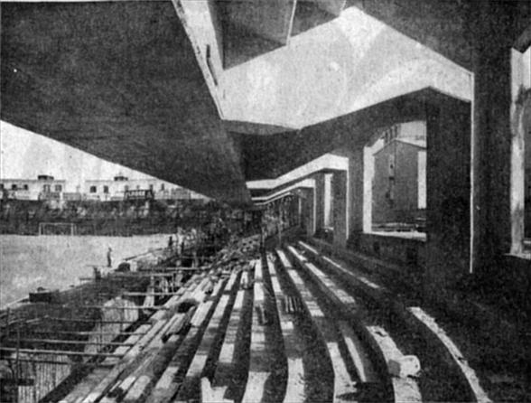 Quando Foggia funzionava: la nuova gradinata dello Zaccheria