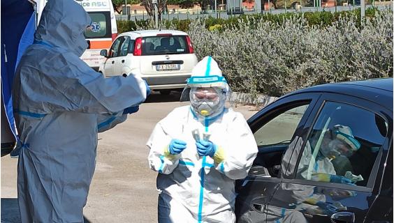 """Coronavirus: la mappa del """"rischio geografico"""" in Capitanata"""