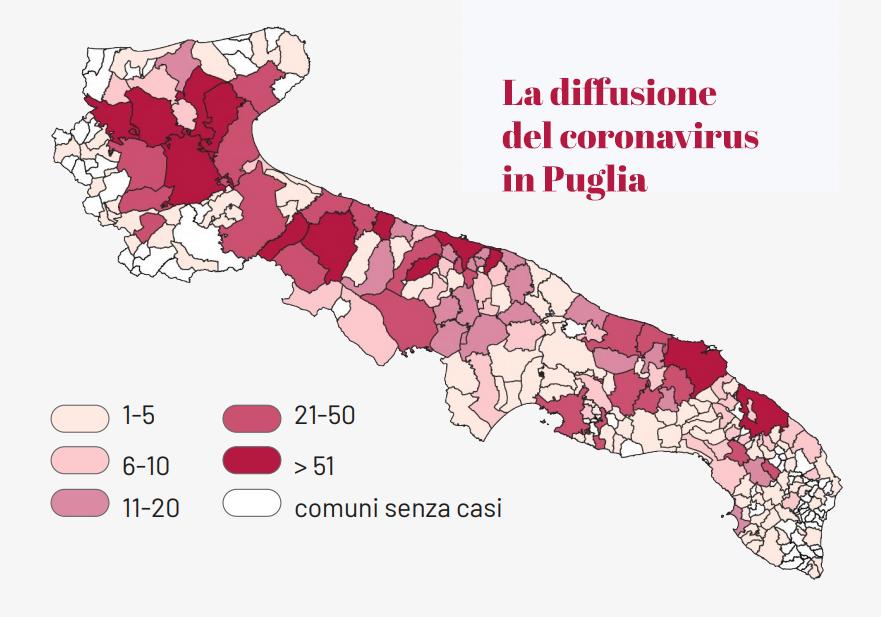 Coronavirus: perché l'indice di contagiosità è così alto in Puglia