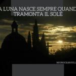 La luna nasce sempre quando il sole tramonta (una videopoesia di Bruno Caravella)