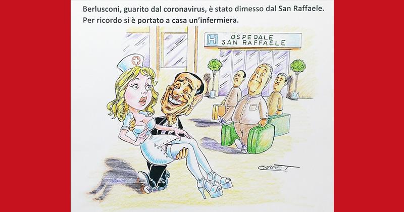 Berlusconi, il ritorno (a casa)