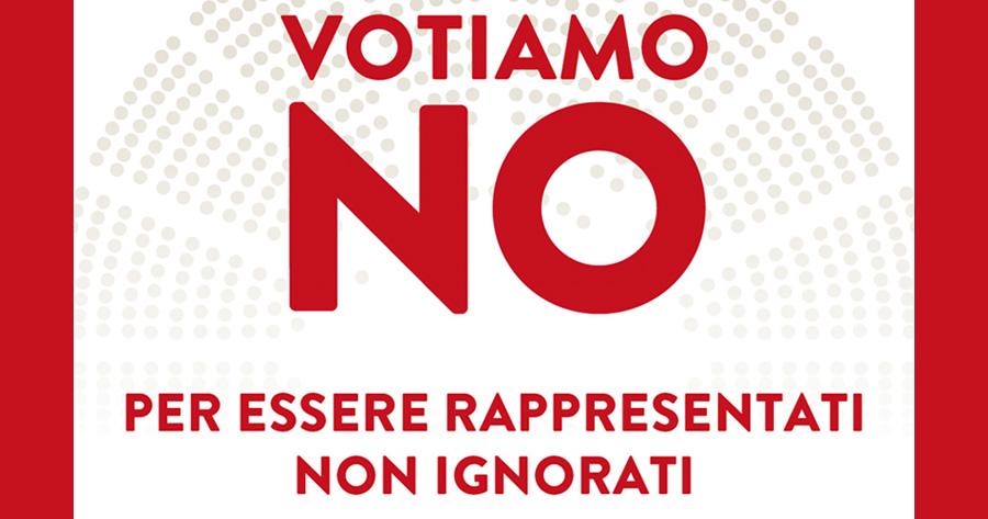"""L'appello per il """"no"""" di Acli, Anpi ed Arci della provincia di Foggia"""