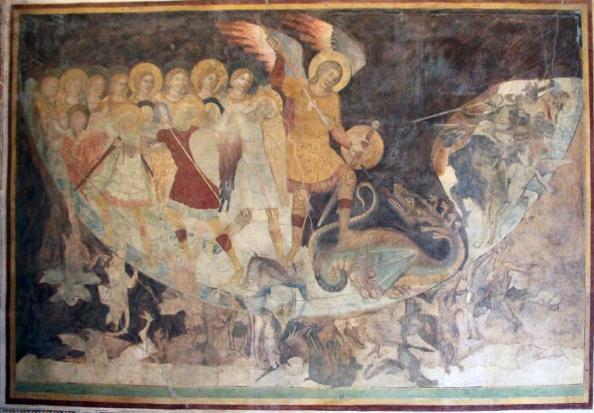 Gli affreschi di San Michele sul Gargano a Santa Croce di Firenze