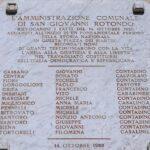 Un secolo fa il massacro di San Giovanni Rotondo