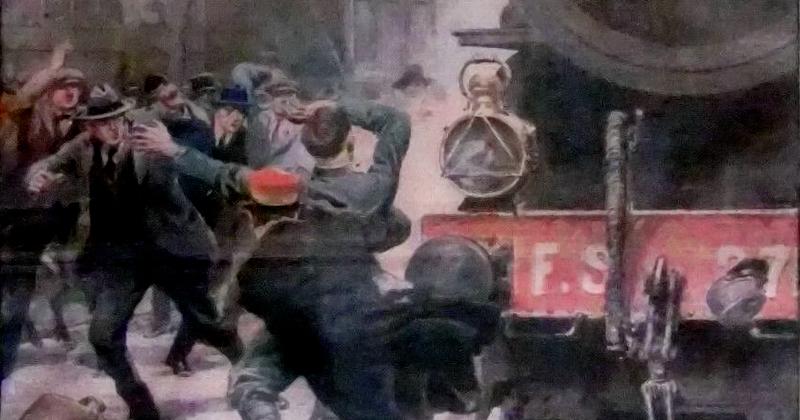 1923, un episodio di eroismo alla stazione di Foggia