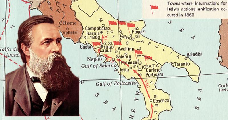 Foggia rivoluzionaria, parola di Engels