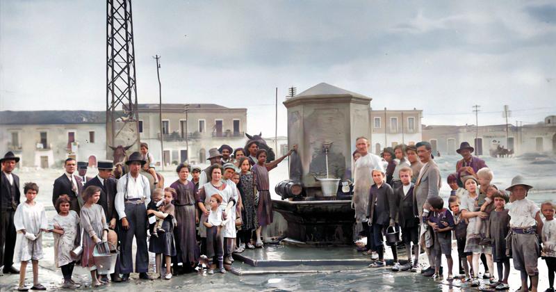 La Foggia bella che non c'è più: la fontana monumentale del Piano delle Fosse