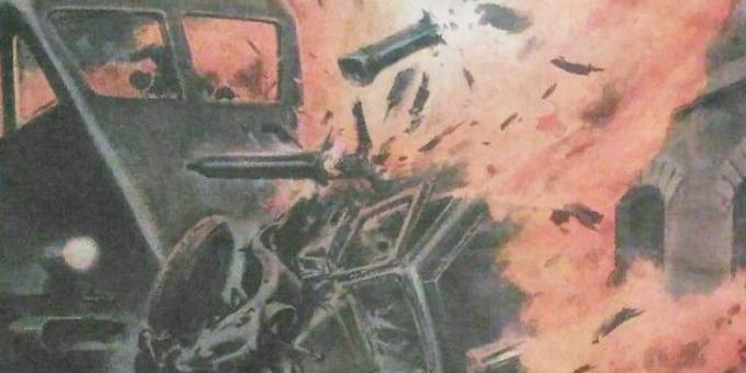 Scontro tra treno e camion vicino Foggia: la copertina della Domenica del Corriere