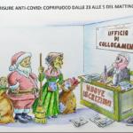 Per il Covid, Babbo Natale e la Befana disoccupati