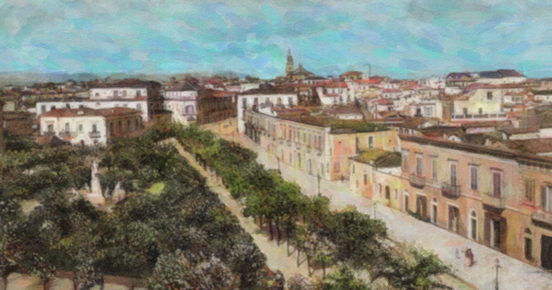 Foggia a fine '800: una piccola città che voleva crescere
