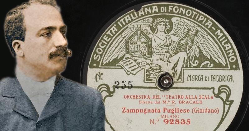 """Ecco la rarissima """"Zampugnata Pugliese"""" di Umberto Giordano"""