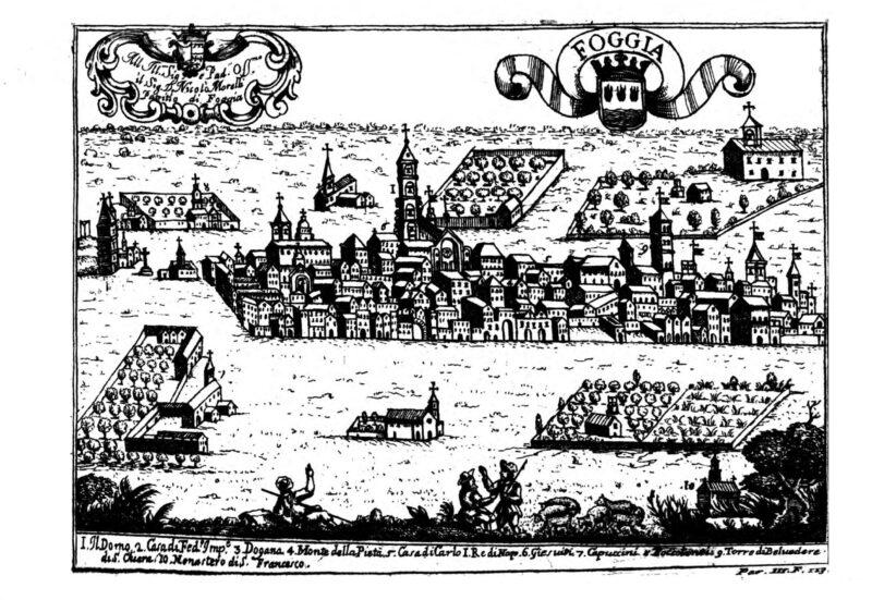In regalo le preziose stampe delle città di Capitanata dell'abate Pacichelli