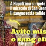 Perché non si è sciolto il sangue di San Gennaro