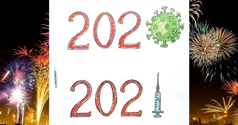 2020: anno del coronavirus. 2021: che sia l'anno del vaccino