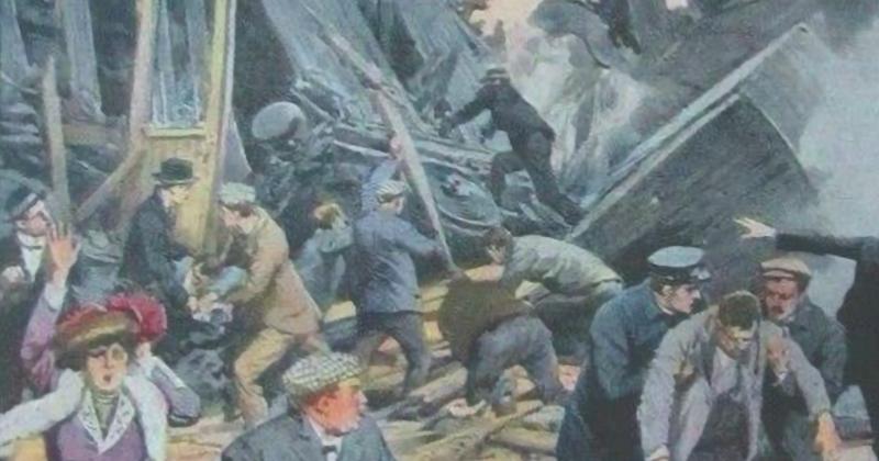 A Foggia il primo disastro ferroviario italiano