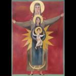 Auguri, con Sant'Anna Metterza di Wolfgang Lettl