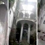 L'agonia di Palazzo Trifiletti: è crollato il tetto