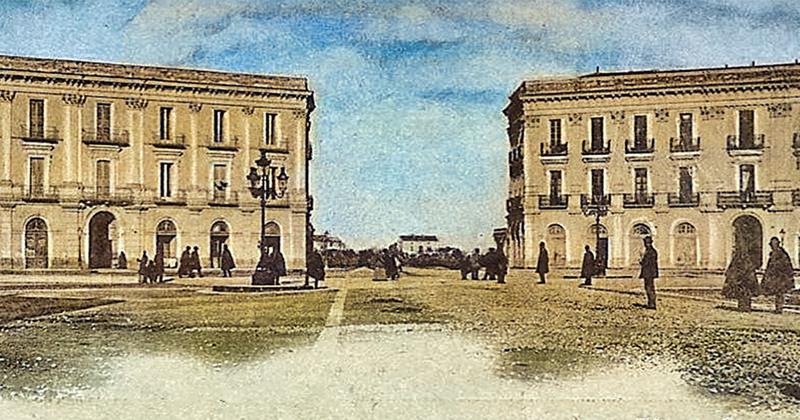 Com'era piazza Cavour all'inizio del Novecento